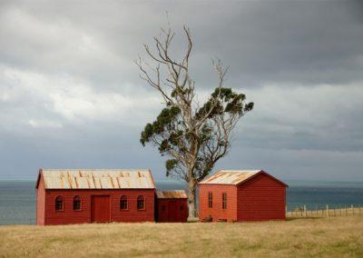 Matanaka - Granary, Privy & Schoolhouse