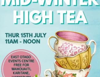 Mid-Winter High Tea